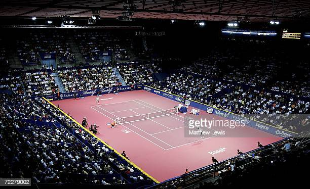 General view of St. Jacobshalle during the ATP Davidoff Swiss Indoors Tournament at St.Jakobshalle on October 27, 2006 in Basel, Switzerland.