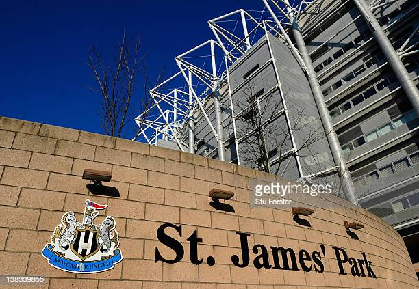 A general view of St James' Park a venue for the 2012 Olympic Games on February 3 2012 in Newcastle upon Tyne England