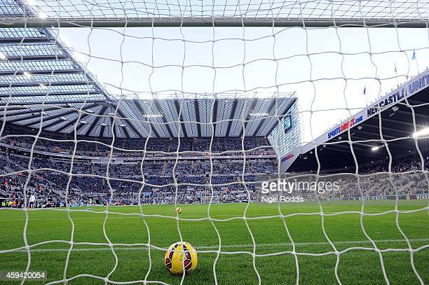 A general view of St James' Park during the Barclays Premier League football match between Newcastle United and Queeens Park Rangers at St James'...