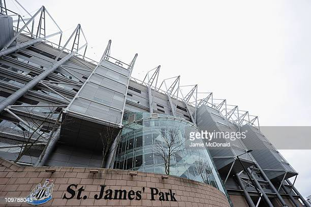 General view of St. James' Park, home of Newcastle United Football Club on March 5, 2011 in Newcastle, England.