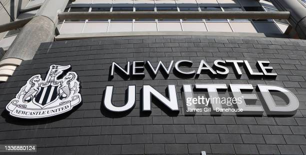 General view of St James' Park is seen prior to the Premier League match between Newcastle United and Southampton at St. James Park on August 28,...