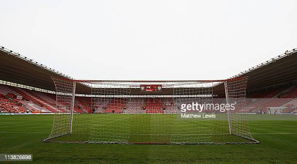 A general view of St Mary's Stadium on May 7 2011 in Southampton England