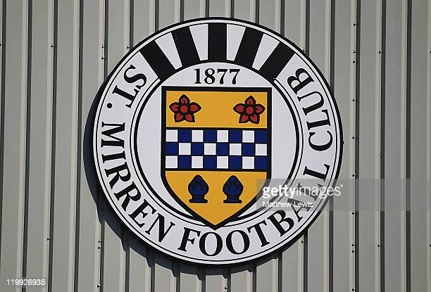 A general view of St Mirren Park on July 27 2011 in Paisley Scotland