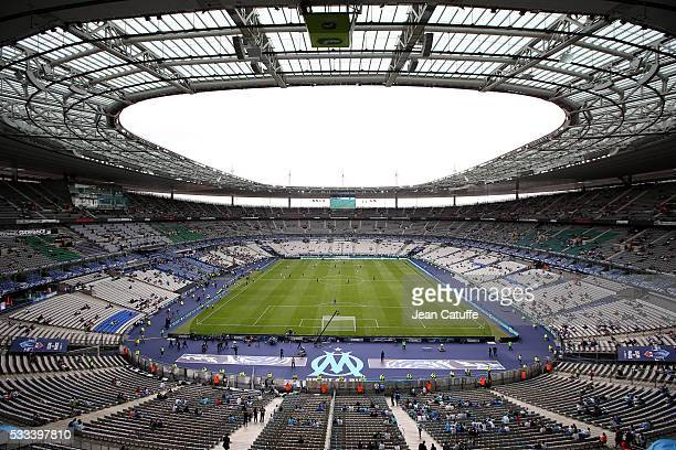 General view of Stade de France before the French Cup Final match between Paris SaintGermain and Olympique de Marseille at Stade de France on May 21...