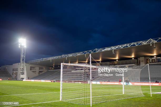January 15: A general view of Stade des Costieres before the Nimes Olympique V Stade Rennes, French Ligue 1, regular season match at Stade des...