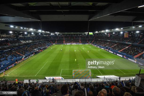 General view of Stade Michel D'Ornano during the Ligue 1 match between Caen and Rennes at Stade Michel D'Ornano on November 3 2018 in Caen France