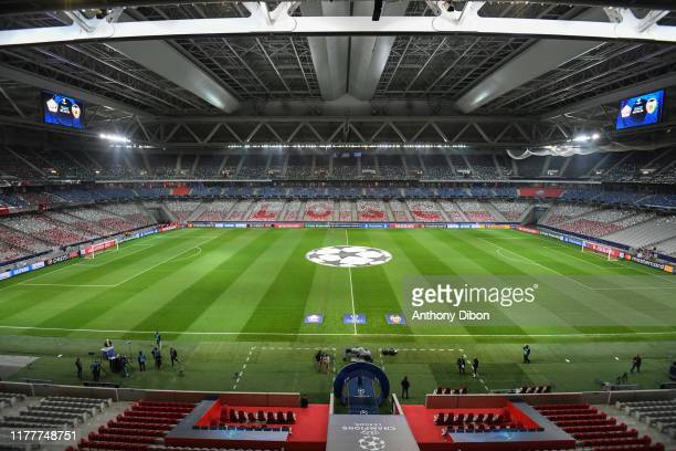 General view of Stade Pierre Mauroy before the UEFA Champions League Group H match between Lille and Valencia on October 23 2019 in Lille France