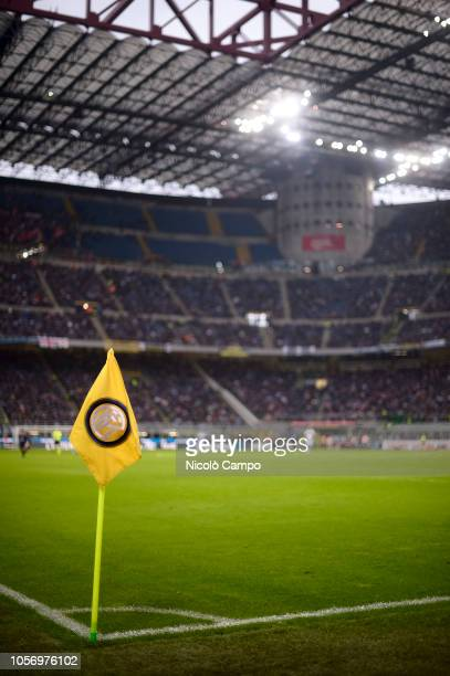 General view of stadio Giuseppe Meazza also known as San Siro during the Serie A football match between FC Internazionale and Genoa CFC FC...