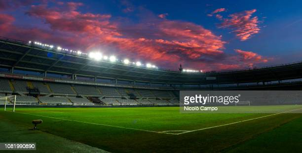 General view of stadio Olimpico Grande Torino at the end of the Coppa Italia football match between Torino FC and ACF Fiorentina. ACF Fiorentina won...