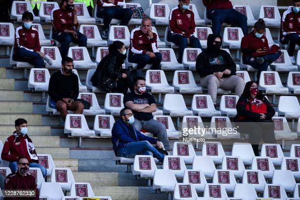A general view of Stadio Olimpico Grande Torino with empty seats during the Serie A football match n2 TORINO ATALANTA on September 26 2020 at the...