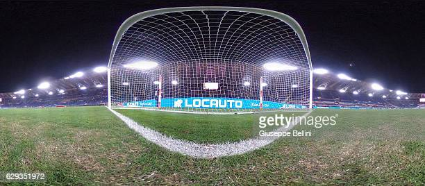 General view of Stadio Olimpico prior the Serie A match between AS Roma and AC Milan at Stadio Olimpico on December 12 2016 in Rome Italy