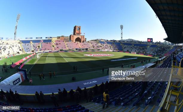 General view of Stadio Renato Dall'Ara prior the Serie A match between Bologna FC and Juventus at Stadio Renato Dall'Ara on December 17, 2017 in...