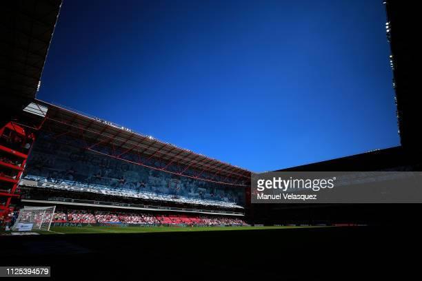 General view of Stadium Nemesio Diez prior the 4th round match between Toluca and Tigres UANL as part of the Torneo Clausura 2019 Liga MX at Nemesio...