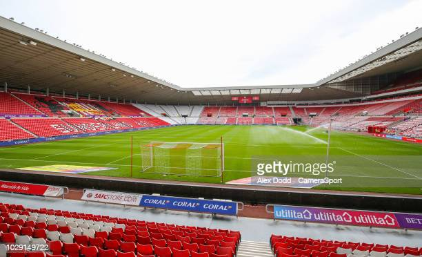 A general view of Stadium of Light home of Sunderland FC during the Sky Bet League One match between Sunderland and Fleetwood Town at Stadium of...