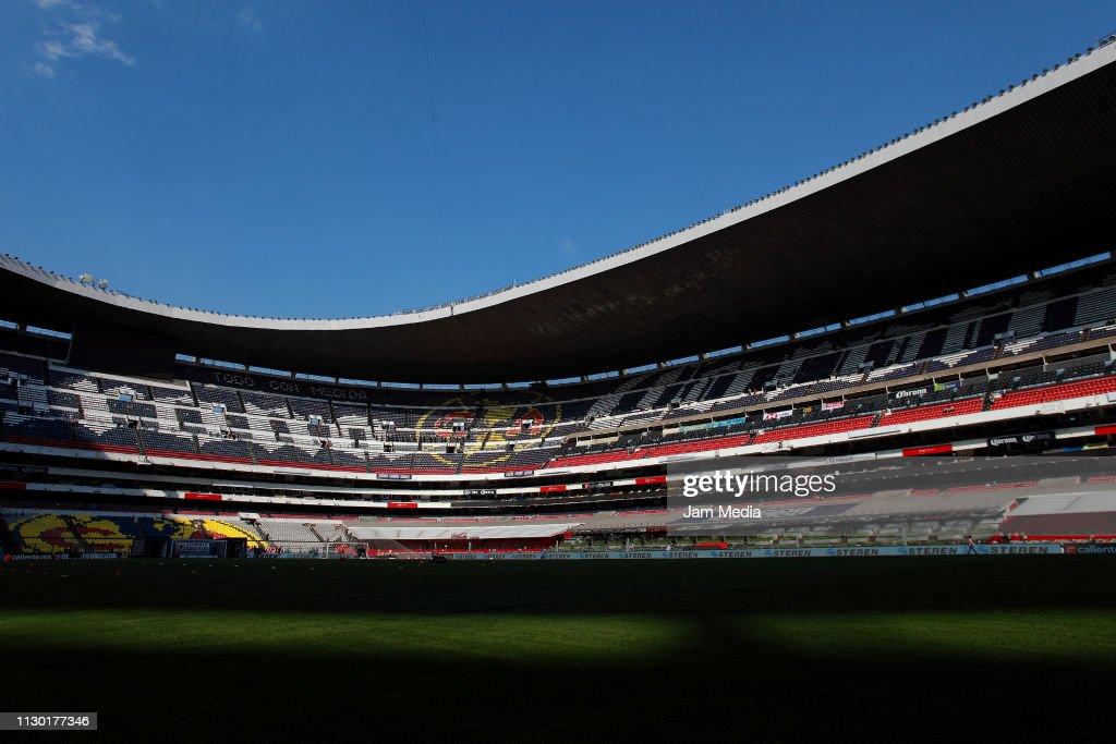 MEX: Cruz Azul v Santos Laguna - Torneo Clausura 2019 Liga MX