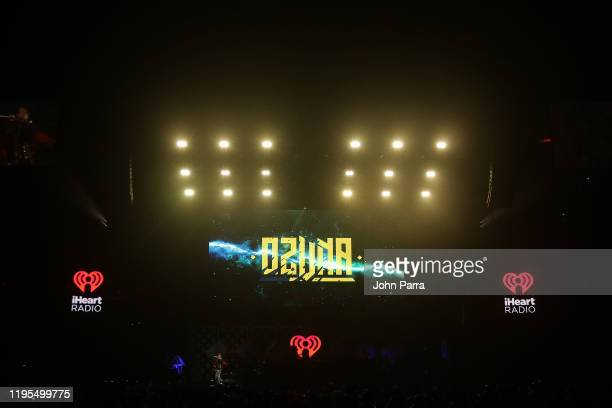 General View of stage during Y100's Jingle Ball 2019 Presented by Capital One at BB&T Center on December 22, 2019 in Sunrise, Florida.