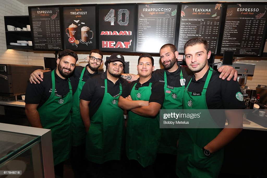 VIP Preview of Starbucks hosted by Udonis Haslem and Ramona Hall : News Photo