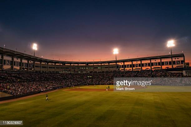 A general view of Steinbrenner Field during the spring training game between the New York Yankees and the Philadelphia Phillies at Steinbrenner Field...