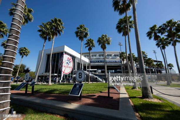 General view of Steinbrenner Field on March 13, 2020 in Tampa, Florida. Major League Baseball is suspending Spring Training and delaying the start of...
