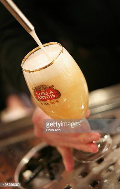 General view of Stella Artois during 2015 New York Taste Presented by Citi hosted by New York Magazine at The Waterfront Building on November 10 2015...