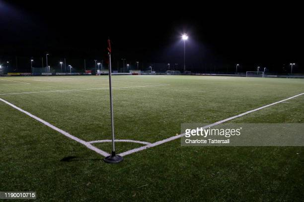 General view of Stockport Sports Village prior to the North West Counties Football League First Division between Stockport Town and Oswestry Town at...