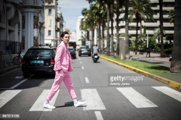 A general view of street style during the 70th annual Cannes Film Festival at on May 23 2017 in Cannes France