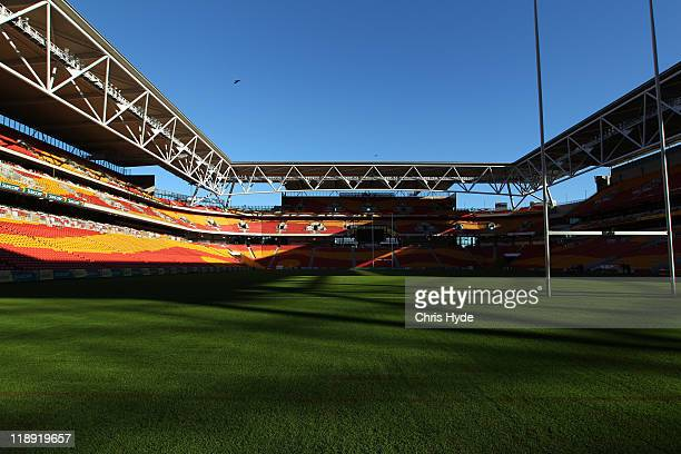 General view of Suncorp Stadium on July 8 2011 in Brisbane Australia
