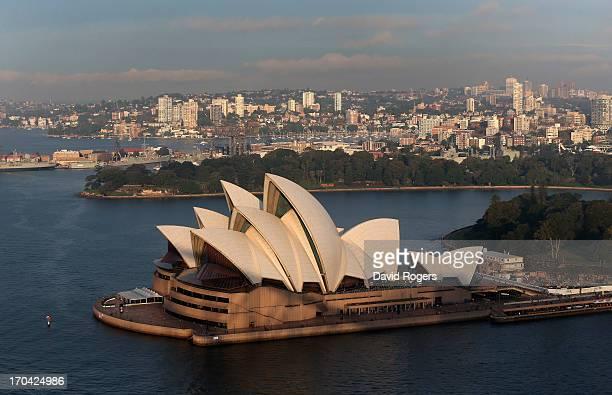General view of Sydney Opera House on June 13 2013 in Sydney Australia