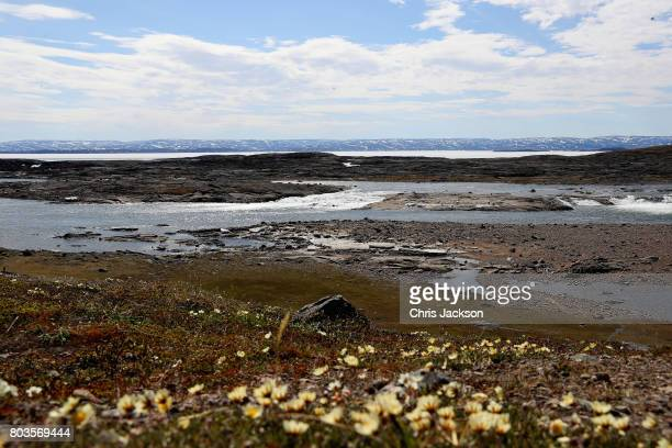 General view of Sylvia Grinnel Territorial Park during a 3 day official visit to Canada on June 29, 2017 in Iqaluit, Canada.