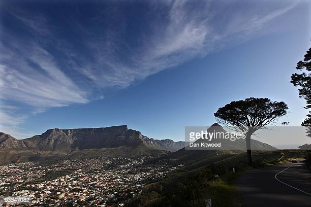 A general view of Table Mountain ahead of the 2010 FIFA world Cup on October 22 2009 in Cape Town South Africa