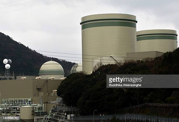 A general view of Takahama Nuclear Power Station which runs by Kansai Electric Power Co on March 9 2012 in Takahama Japan Only two of Japanese's 54...