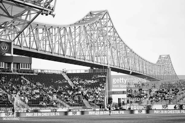 A general view of Talen Energy Stadium is seen during the international friendly match between the United States and Bolivia at the Talen Energy...