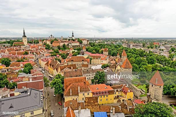 General view of Tallinn, Estonia