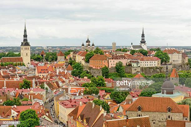 General view of Tallinn, Estonia