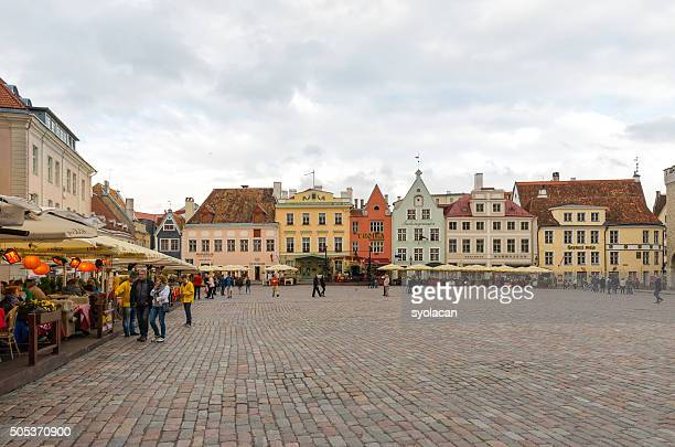 general view of tallinn, estonia - syolacan stock pictures, royalty-free photos & images