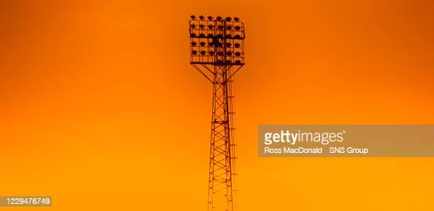 General view of Tannadice Park during a Scottish Premiership match between Dundee United and Livingston at Tannadice Park, on October 02 in Dundee,...