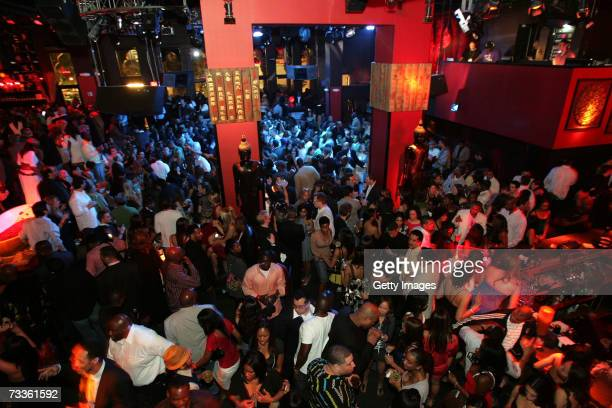 General view of Tao during the exclusive dinner for Jay-Z And Lebron James' First Annual Two Kings Dinner & Party at Tao Nightclub inside The...