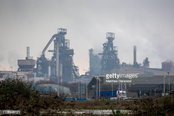 A general view of Tata Steel on January 20 2019 in Port Talbot United Kingdom The British graffiti artist Banksy who keeps his identity a secret...
