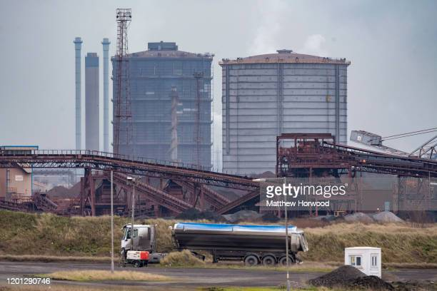 General view of Tata Steel on January 22, 2020 in Port Talbot, United Kingdom.