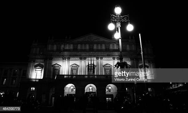 A general view of Teatro Alla Scala on December 7 2013 in Milan Italy
