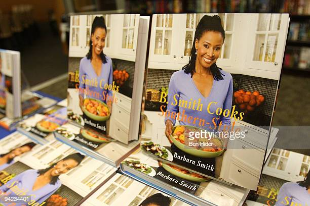 A general view of television personality B Smith's new southernstyle cookbook at Barnes Noble 86th Lexington on December 9 2009 in New York City