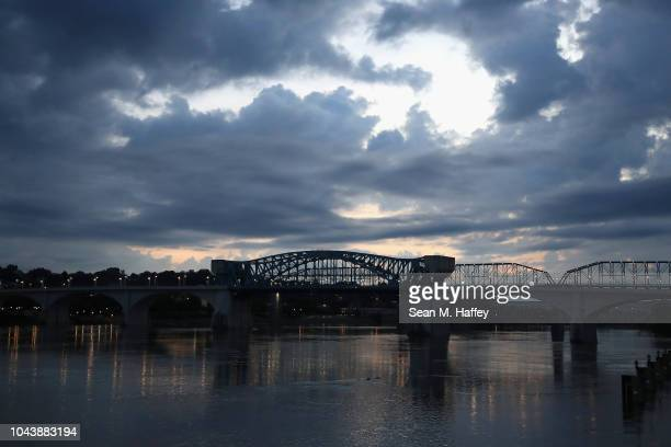 A general view of Tennessee river prior to the start of the Little Debbie IRONMAN Chattanooga Presented By McKee A Family Bakeryon September 30 2018...