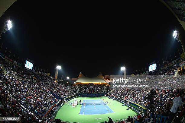 Dubai Duty Free Tennis Stadium Stock Photos And Pictures Getty Images