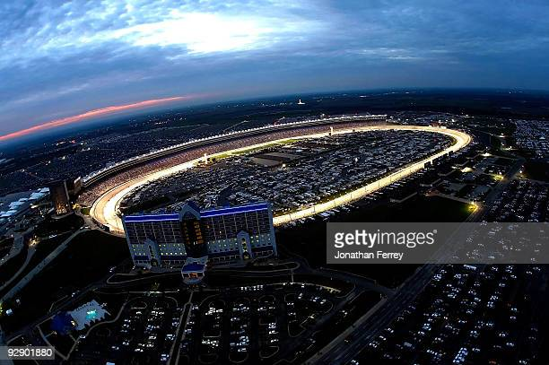 A general view of Texas Motor Speedway during the NASCAR Sprint Cup Series Dickies 500 on November 8 2009 in Fort Worth Texas