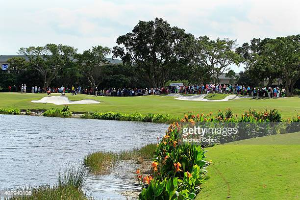 A general view of th sixth hole during the second round of the Allianz Championship held at The Old Course at Broken Sound on February 7 2015 in Boca...