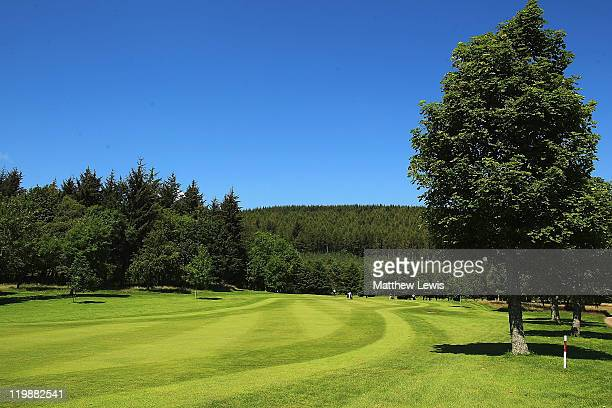 General view of the 11th hole during the Virgin Atlantic PGA National Pro-Am Championship Regional Final at Crieff Golf Club on July 26, 2011 in...