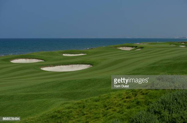 A general view of the 12th fairway prior to the NBO Golf Classic Grand Final European Challenge Tour at Al Mouj Golf on October 31 2017 in Muscat Oman
