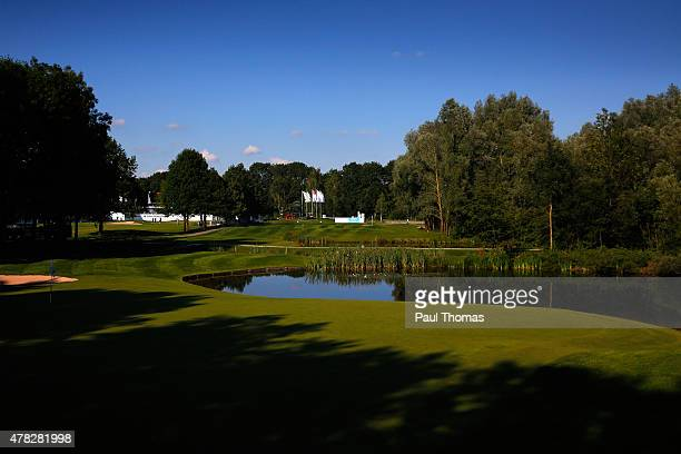 A general view of the 12th hole during the BMW International Open preview day at the Eichenried Golf Club on June 24 2015 in Munich Germany