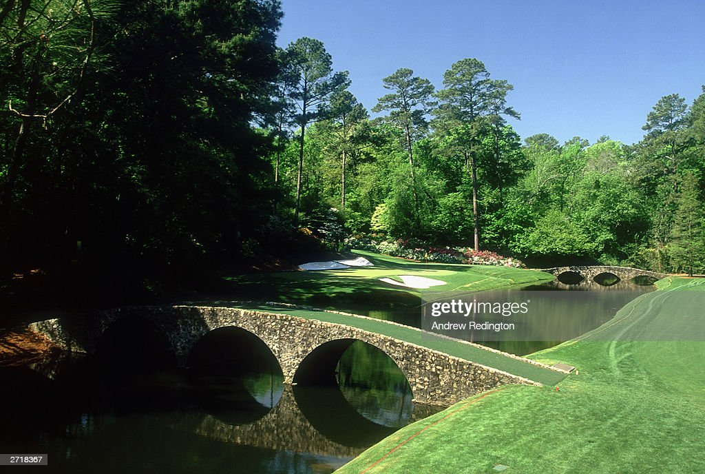 General view of the 12th hole : News Photo
