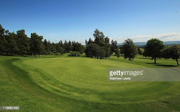 A general view of the 13th green during the Virgin Atlantic PGA National ProAm Championship Regional Final at Crieff Golf Club on July 26 2011 in...